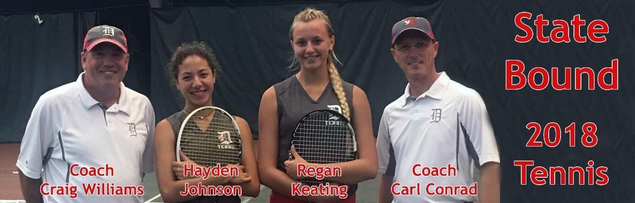 State Tennis Team 2018
