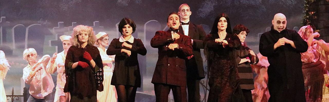Addams Family Play 2018