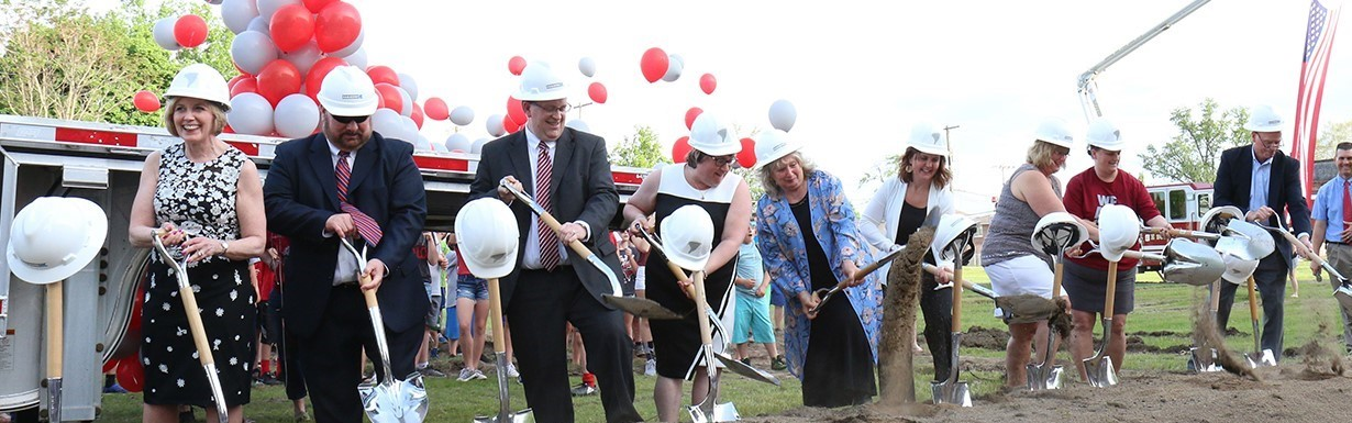 5-18-18 Groundbreaking for new High School