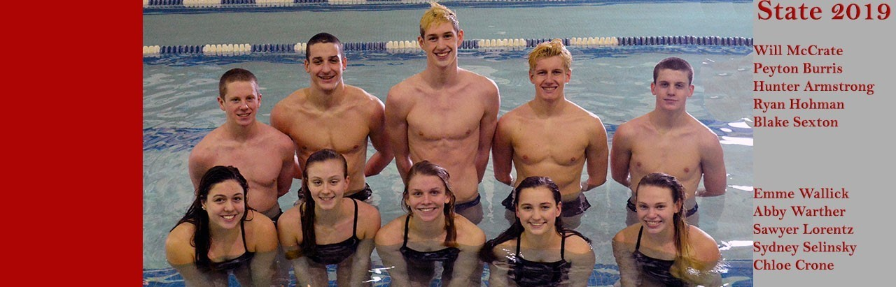 2019 State Swimmers