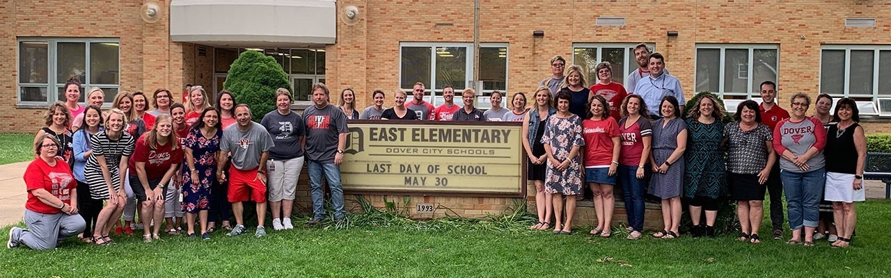 Staff Picture Last Day of School 2019