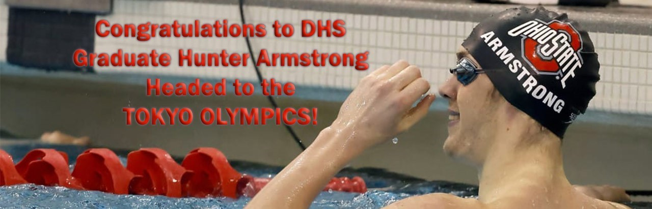 Congratulations Hunter Armstrong Tokyo Olympics